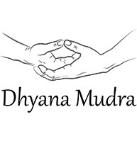 Drawing of the Dhyana Mudra